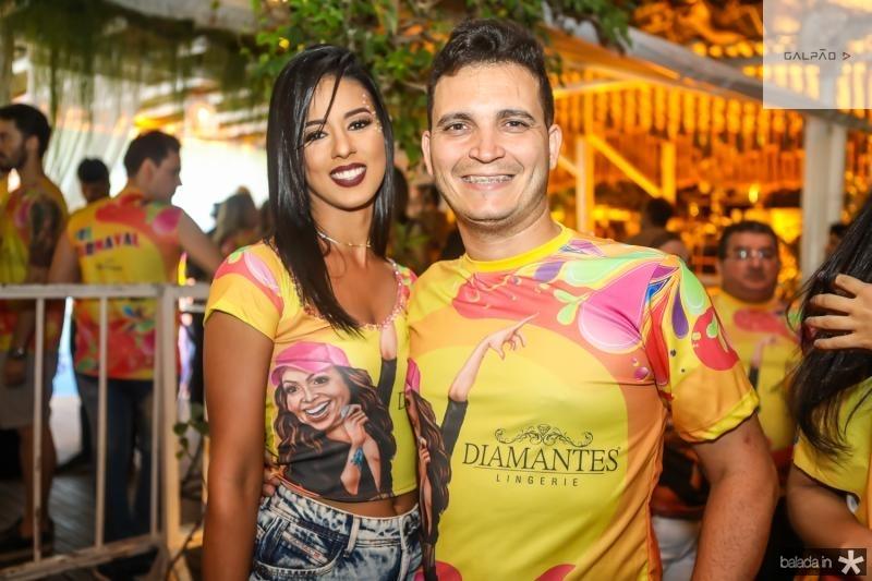 Renata Viana e Daian Marciel