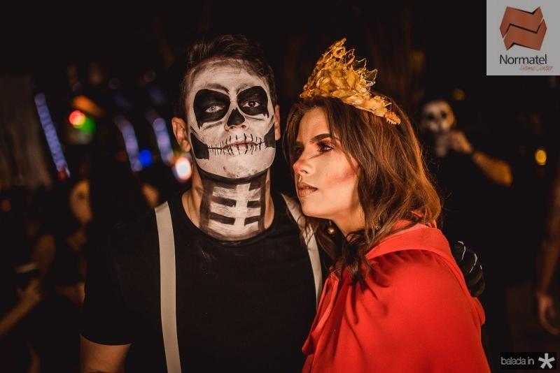 Arthur Marinho e Julia Goyanna