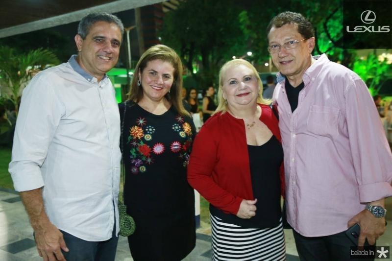 Andre e Islania Vercosa, Herbene e Elpidio Nogueira