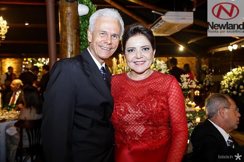 Edmar Maciel e Ingrid Barreira
