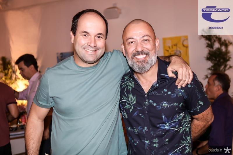 Elcio Brasileiro e Alexandre Lima