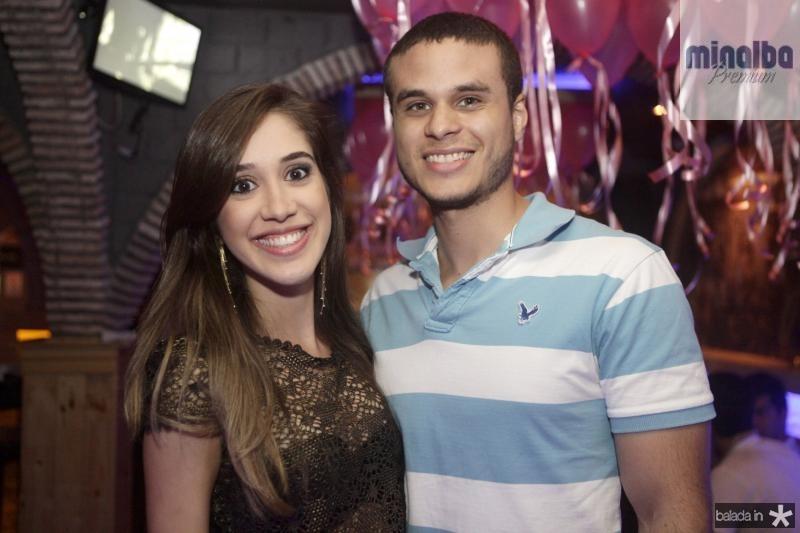 Ana Vitoria Almeida e Vinicios Monteiro
