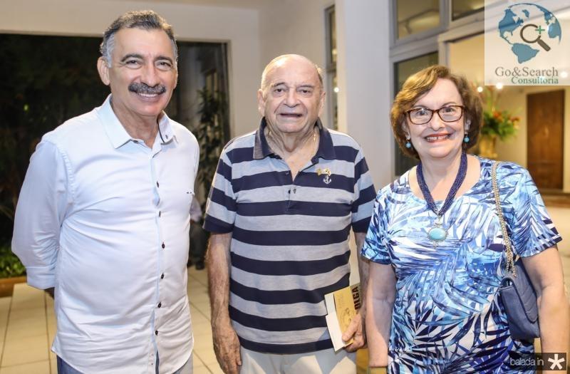 Artur Bruno, Edinilo Soares e Regina Fiuza