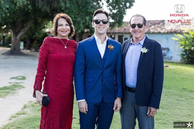 Ana, Andre e João Fiuza