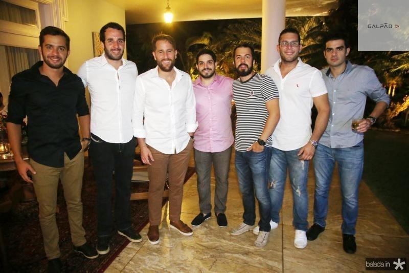 Marcelo Gondim, Ze Ricardo, Rodrigo Frota, Fernando Victro, Rodrigo Abud, Luiz Barros de Oliveira e Rodrigo Nogueira