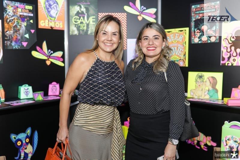 Cristina Ary e Suyane Pontes