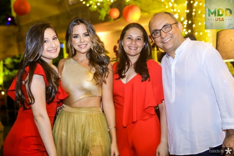 Alexia Gomes, Fernanda Levy, Kercy e Marcelino Gomes
