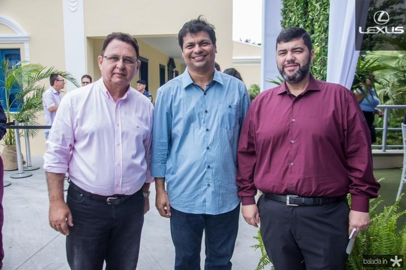 Aristotanes Rio, Wesley Andrade e Rui Gouveia
