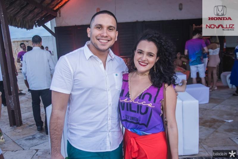 Andre Sousa e Sarah Oliveira