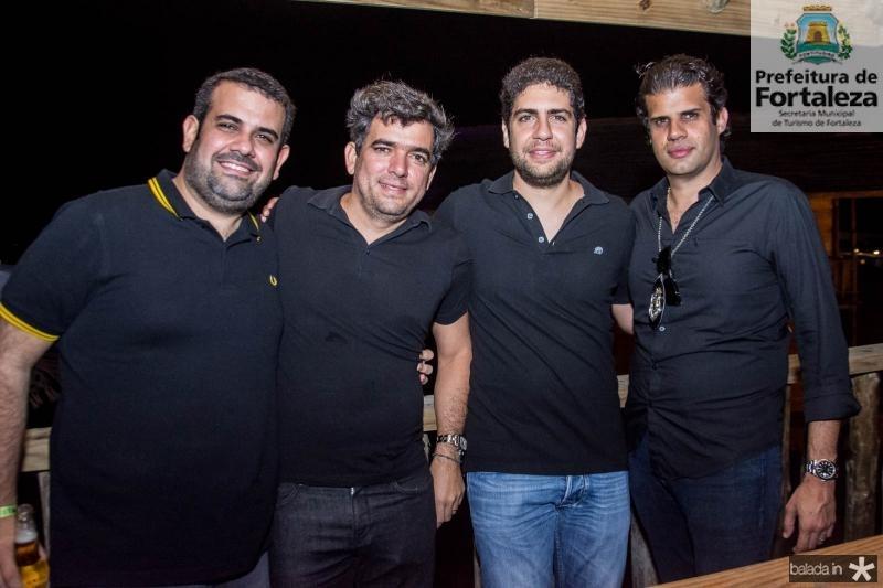 Cláudio Henrique Câmara, Marcelo Franco, Pedro Fiuza e Bruno Borges