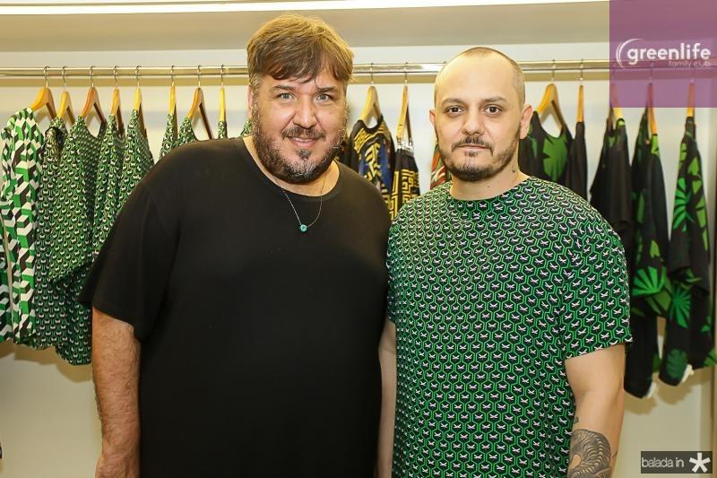 Leonan Dantas e Giuliano Mazeti