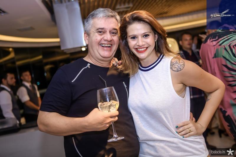 Fred Portela e Isadora Capelo