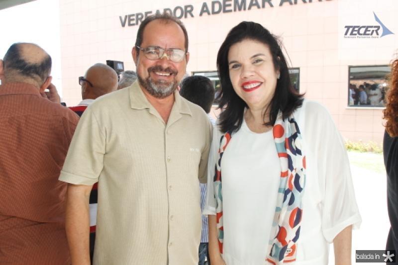 Leonardo Pedreira e Ana Juacaba