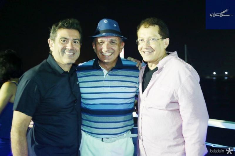 Alexandre Pereira, Licinho Correa e Elpidio Nogueira