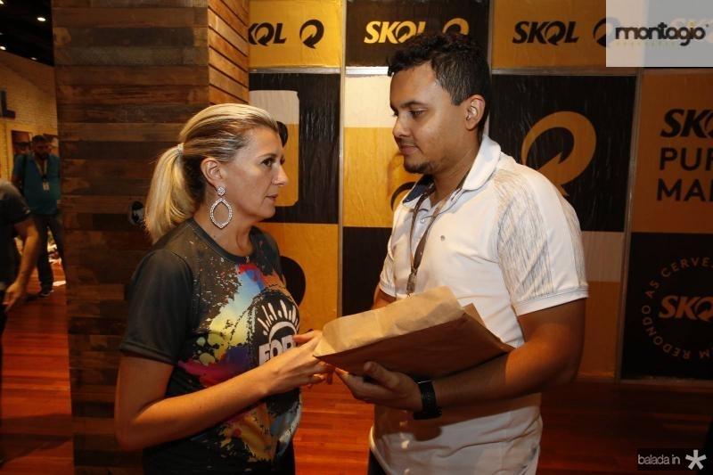 Sandra Bezerra e Elias Bruno