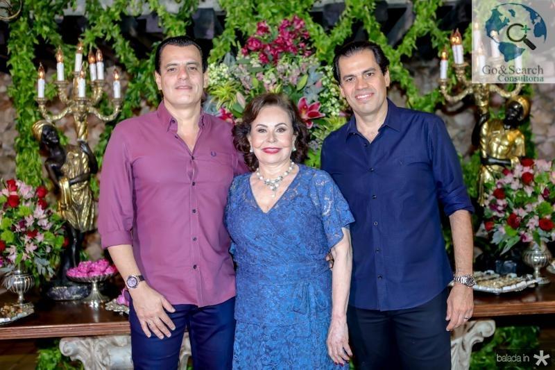 Magno, Marly e Etevaldo Nogueira