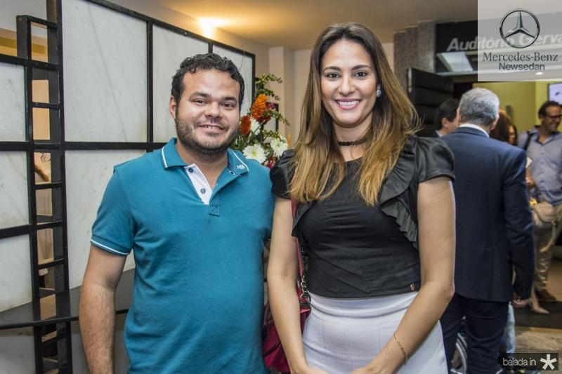 Demetrio Jorge Vieira e Rafaela Santiago