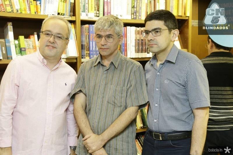 Samuel Arruda, Andre Paiva e Romulo Conrado