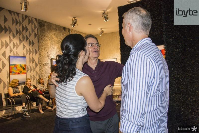 Camila Albuquerque, Cesar Fiuza e George Albuquerque