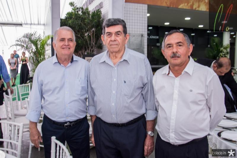 Antunes Mota, Orlando Siqueira e Cirilo Vidal