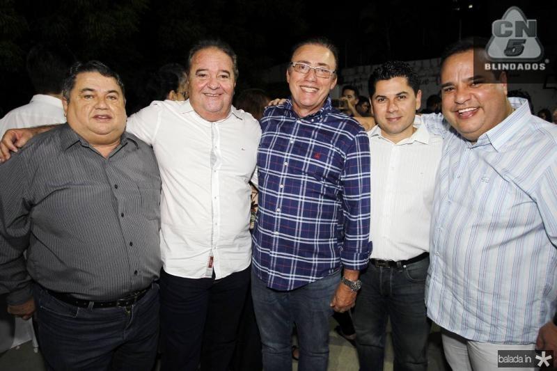 Helio Medeiros, Chiquinho Aragao, Darlan Leite, Pompeu Vasconcelos e Marcos Cavalcante