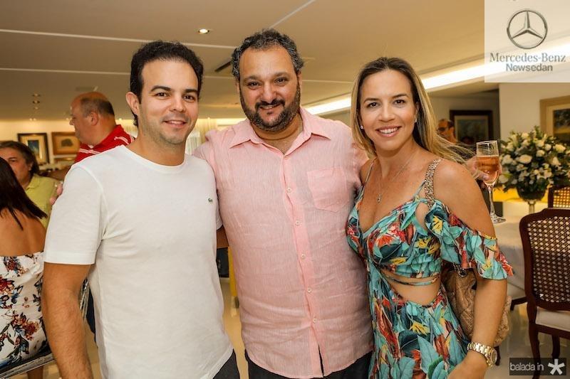 Patriolino Dias Com Drauzio e Isabella Barros Leal
