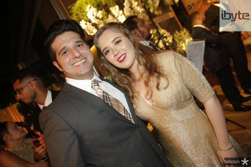 Pedro Gurjao e Izabella Reboucas