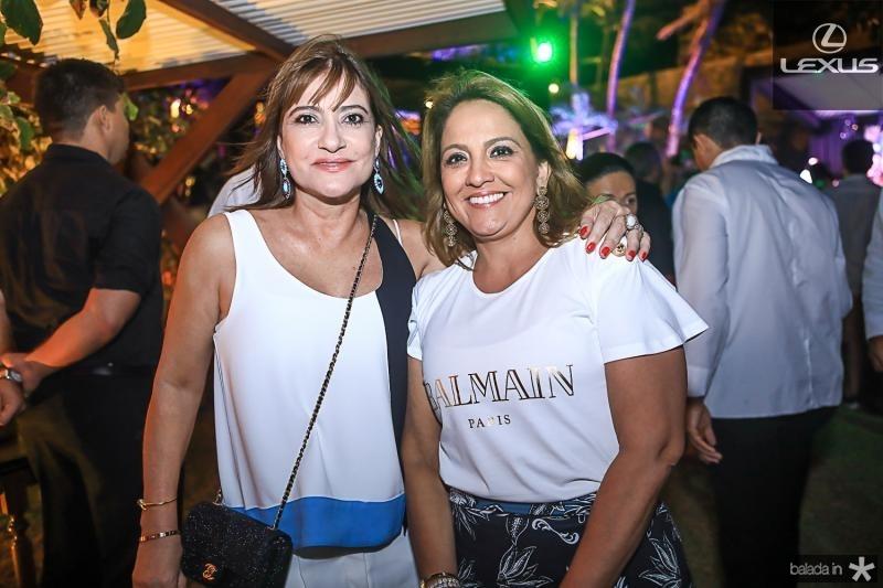 Pretinha Rolim e Liana Thomaz