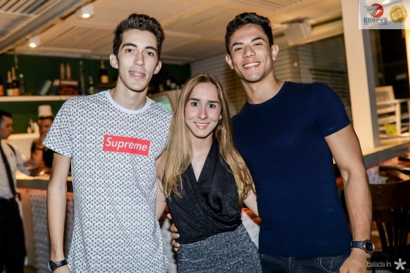 Melies Kuvrick, Jordana Holanda e Orion Alves