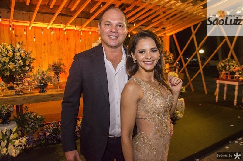 Freitas Junior e Patricia Meira