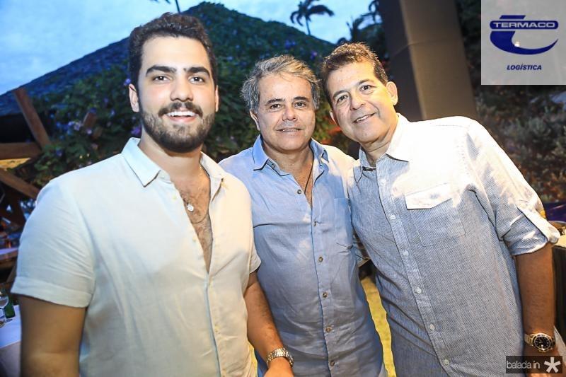 Vicente de Castro, Ivan Bezerra e Deib Otoch
