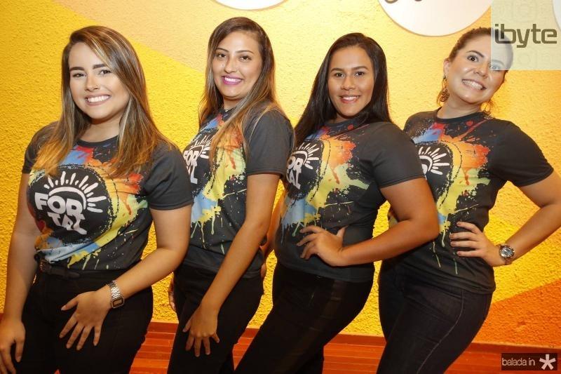 Amanda Galvao, Joice Rocha, Vitoria Jessica e Camilla Machado