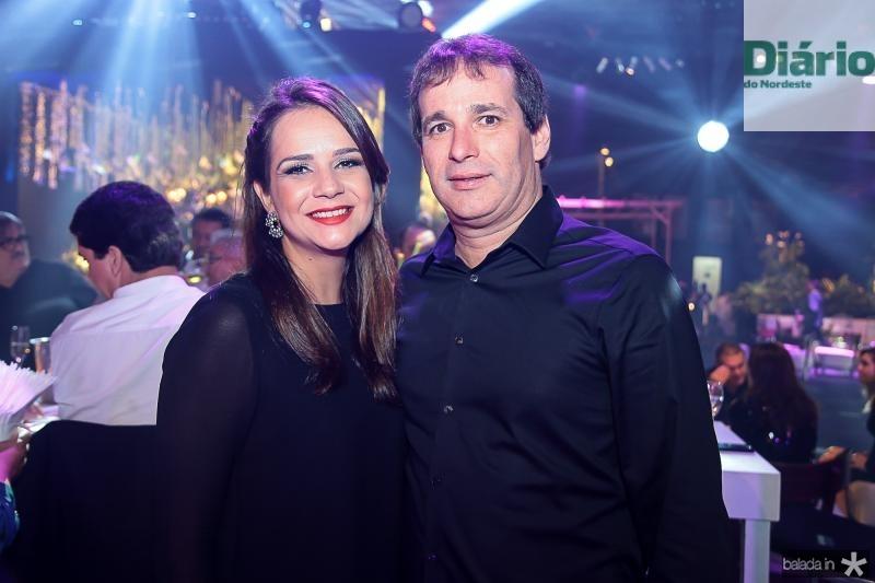 Cristiane Perez e Roger Pouchain