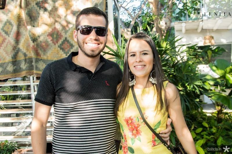 Renan Melo e Clara Ximenes