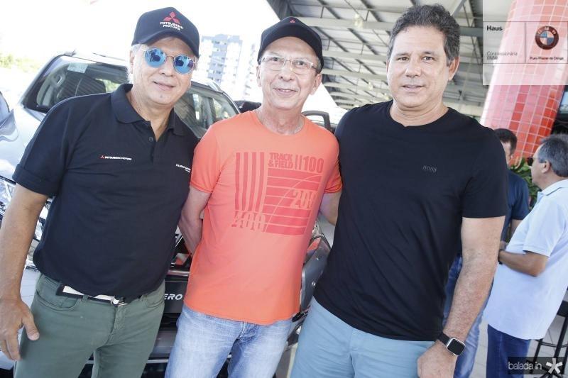 Ricardo Rolim, Julio Militao e Marcos Medeiros