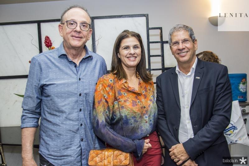 Sergio Fiuza, Gina Fiuza e Severino Ramalho Neto