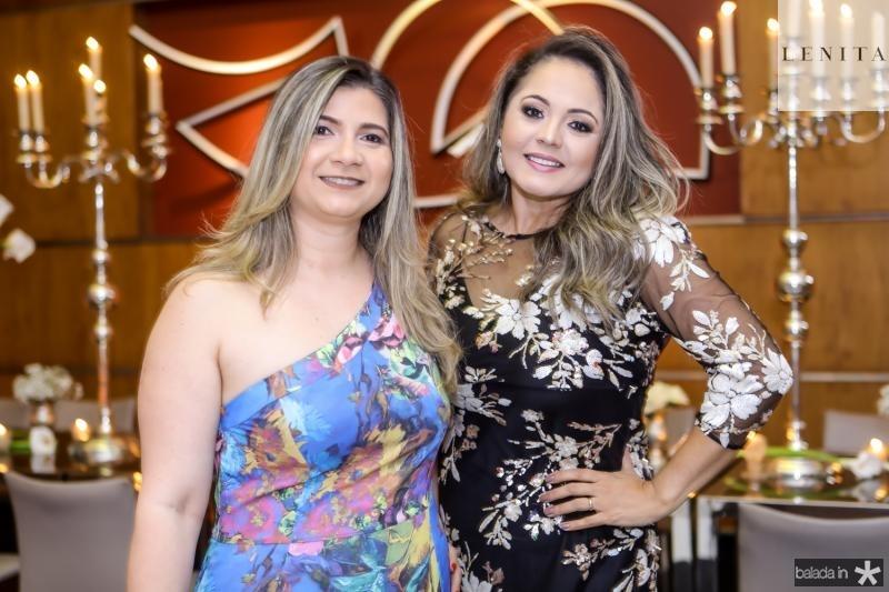 Ivna Mazi e Karina Mota
