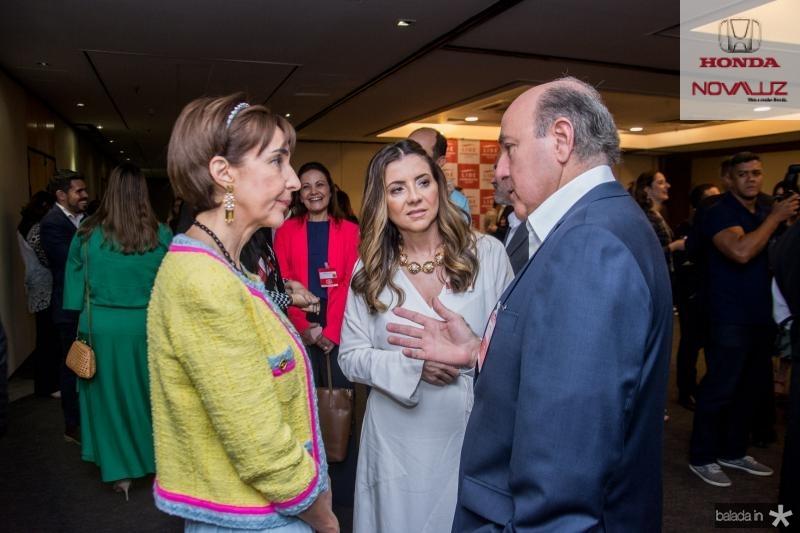 Viviane Senna, Emilia Buarque e Silvio Frota