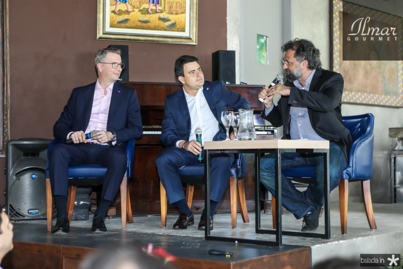 Ralph Schweens, Luiz Sergio e Jocelio Leal