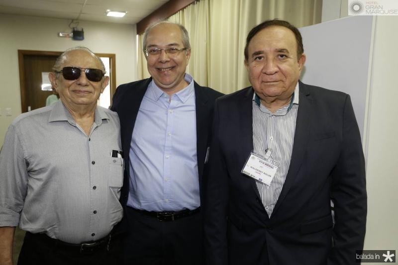 Eduilton Girao, Roberio Leite e Valdeney Rolim