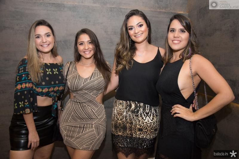 Shaiene Carneiro, Amanda Kelly, Louise Farias e Beatriz Caetano