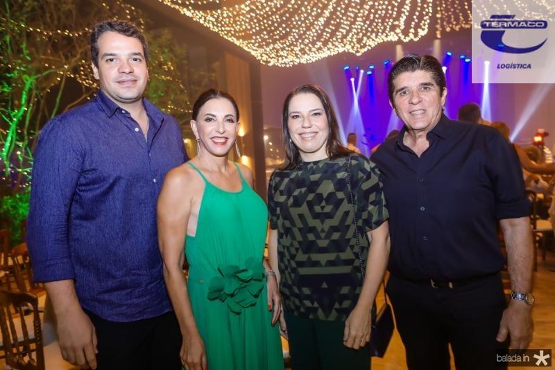 Thiago Holanda, Luciana e Denise Bezerra, Dito Machado