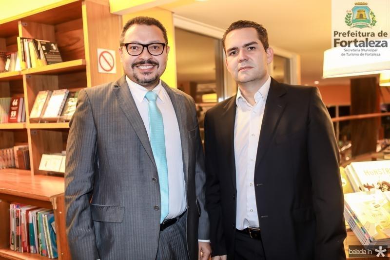 Jorge Bheron e Pedro Miron