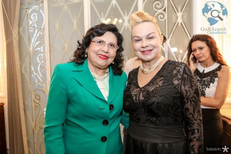 Nailde Pinheiro e Isabel Porto