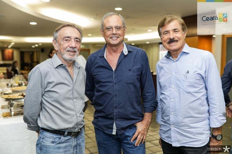 Gil Brasil, Guilardo Gomes e Jose Falanga