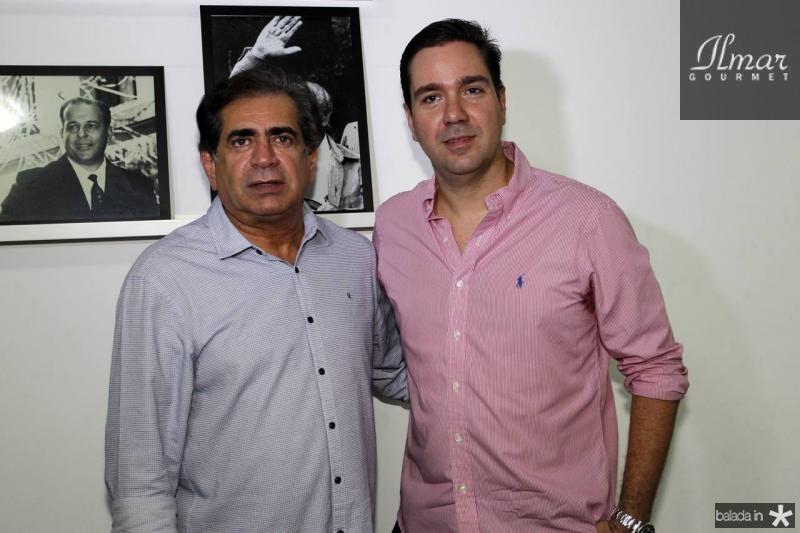 Zezinho Albuquerque e Eduardo Bismarck