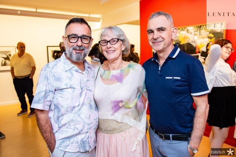 Mario Queiroz, Silvia Demetresco e Jorge Augusto Fabron