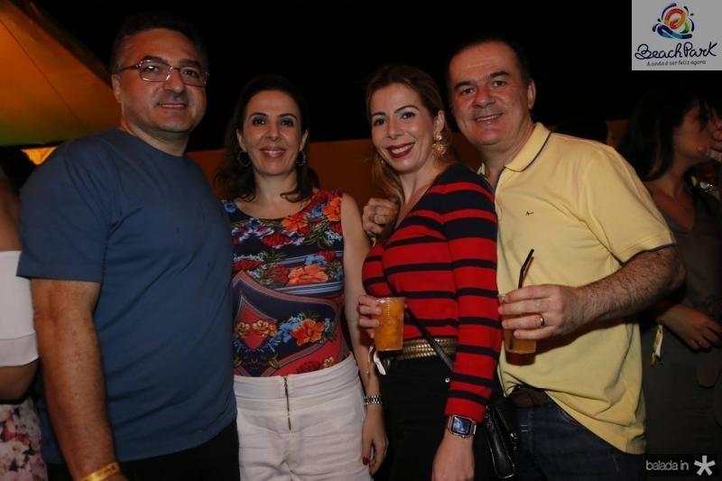 Guarany e Lorena Montalverne, Lilia e Ronaldo Aragao
