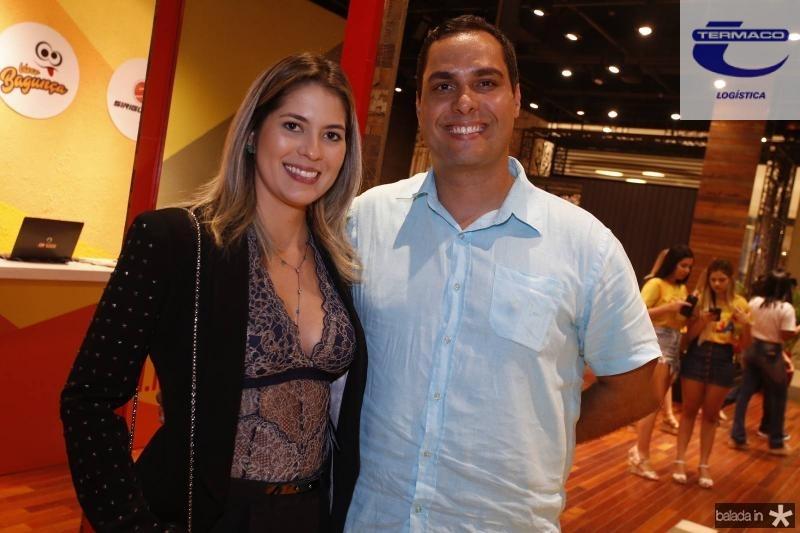 Natasha Melgasso e Marcelo Gentil