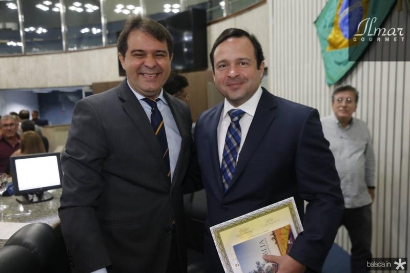 Evandro Leitao e Igor Queiroz